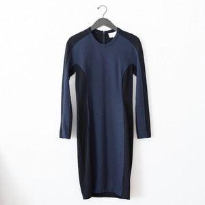 3.1 Phillip Lim Shadow Colorblock Sheath Dress